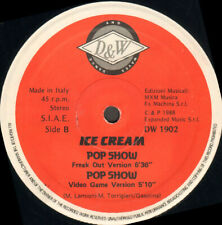 Ice Cream - Pop Show - Dance And Waves ‎– DW 1902 - Ita 1988