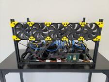 ETH Cryptocurrency Mining Rig 6 GPU Ready (Professionally Built) ON HAND