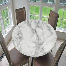 Runde Tischdecken in Grau