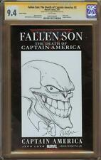 The Mask Sketch Cover By Doug Manhke CGC 9.4 Graded