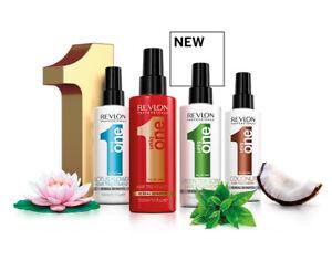 Revlon Uniq One 10 in 1 HAIR Treatment Spray 150ml -  COCONUT, LOTUS FLOWER TEA