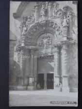 Spain: Montesion P.M West Door of Church - Old RP Postcard