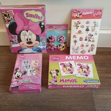 Minnie Mouse Wanduhr XXL 37 cm Riesenuhr Uhr Kinderuhr Fanuhr Disney Minni Maus