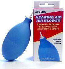 Acu-Life Hearing Aid Air Earmold & Tube Blower