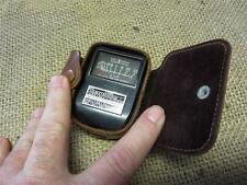 Vintage Weston Electric Light Meter & Leather Case > Photography Antique 8398