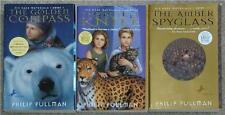 PHILIP PULLMAN ~ HIS DARK MATERIALS ~ BOOKS 1,2 &3 ~ LARGE SOFTCOVER PAPERBACK