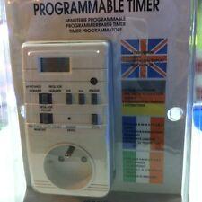 Digital 7-day programmable timer .