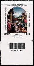 Italia 2012 - Natale religioso - codice a barre 1499