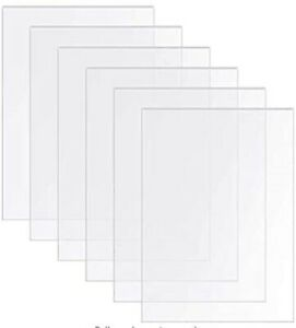 Clear Glass Acrylic Perspex Sheet A5 A4 A3 A2 A1 Cut to Many Plastic Sizes Panel