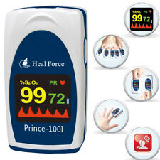 Heal Force 100i Fingertip Oximeter Kids Child Adult Pulse Ox Heart Rate Meter PR