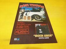 NEIL YOUNG - BROKEN ARROW!!!!!!!!!!! PUBLICITE / ADVERT