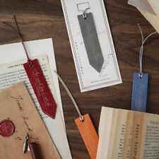 Leather Bookmarks Residual Debris Series Creative Reading Old Textbook Bookmarks