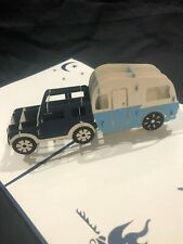 Father's Day Jeep Camper 3D Pop Up Card Love Birthday Anniversary Greeting Card
