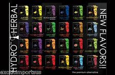 Lot of 6 x 50g Hydro Herbal Shisha Molasses boxes - Choose or Random Flavors!