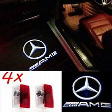 4 Pcs New Door Led Laser Projector for Mercedes AMG A B C E M GL class W205 W212