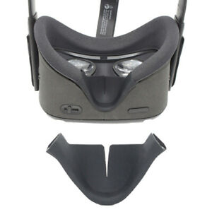 VR Headset Nose Cushion Cover Pad Silicone Eye Face Fitted For Oculus Qu HsYtop