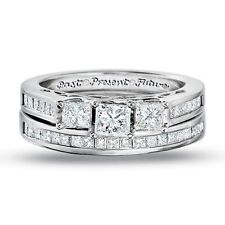 Zales Past Present Future Wedding Set