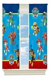 "Paw Patrol 63"" Room Darkening Boys Bedroom Curtain Panel Kids Toddler Room Decor"