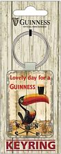 Guinness Toucan Weather Vane PU Leather keyring (sg)