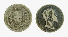 pcc1922) SARDEGNA Vittorio Emanuele II Re (1849-1861) - 1 Lira 1859  - TONED