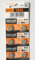 6 x Fresh Maxell LR44 AG13 357 157 303 A76 LR154 L1154 1.5V Alkaline Battery