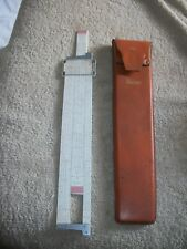"Vintage Deci-lon 10"" Slide RuleVintage K&E Keuffel Esser Deci-lon 10"" Slide Rul"