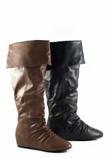 Women's Wedge Casual Knee High Boots