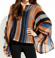 Poncho Thin Knit Regular Size Jumpers & Cardigans for Women
