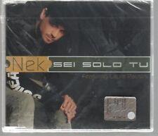 NEK SEI SOLO TU LAURA PAUSINI  CD SINGOLO SIGILLATO!!!