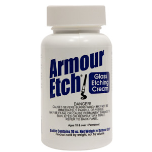 Armour Etch® Glass Etching Cream (10 oz) POSTED 1ST CLASS FAST DELIVERY