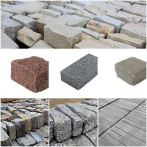 Cobble / Sett Sample Packs  | Primethorpe Paving | Limestone, Sandstone, Granite