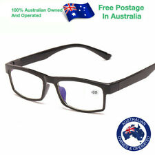 Mens Ladies Magnifying Bifocal Eye Wear Spectacles Fashion Reading Glasses W807D