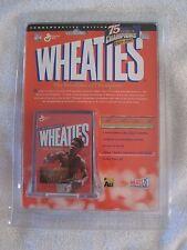 Muhammad Ali Mini Wheaties Box 75th Anniversary 24K Gold Sig Ed-Original Pkg