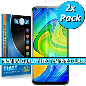 For Xiaomi Redmi Note 9 / Pro / Pro Max Clear Tempered Glass Screen Protector