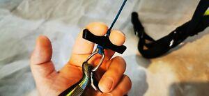2x Two Finger Rigid Acro Handle, Paragliding, Paraglider, Control, Brake, Break