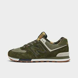 NEW BALANCE 574 MEN's CASUAL SHOE GREEN - PIGMENT AUTHENTIC NEW IN BOX US SIZE