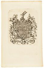 Paul Revere Jr. Engraved Copper-Plate David Greene (1749-1812) Altered Bookplate
