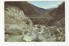 Gates To The Haast Bridge West Otago New Zealand 1970 Postcard 711a