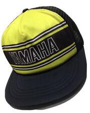 YAMAHA Trucker Hat Cap Vintage 70s - 80s Snapback Made In USA