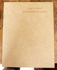 GEORGES EEKHOUD LES SORCIERS DE BORGHT  ill J CANTRE  ISAD Ed  1/350 pannekoek