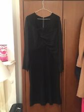 Joseph BRAND NEW Black Georgette Dress Size 42