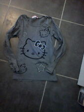Tee shirt 10-12 and hello kitty