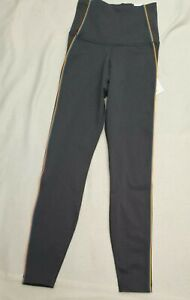 NIKE WOMEN'S YOGA PANTS LEGGINGS LUXE GREY 7/8 LENGTH CU5360 032 XS RRP £60