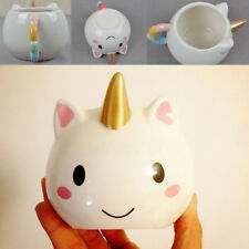 3D Unicorn Cartoon Coffee Water Milk Ceramic Mug Tea Cup Christmas Xmas Gift US