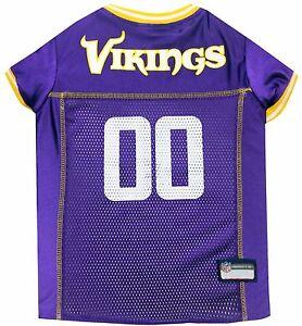 NFL Minnesota Vikings Pet Jersey. *Officially Licensed* Brand NEW!