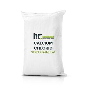 25 kg Calciumchlorid Streugranulat Dihydrat CaCl2 2H2O Streusalz Luftentfeuchter