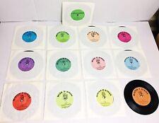 Vintage THE LETTER PEOPLE Homeschooling Records VINYL Alphabet Childcraft 1981
