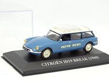 Stampa Ixo 1/43 - Citroen DS ID 19 Break 1960 Pathe News