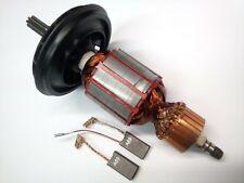 Moteur Armature Rotor Runner + Charbon pour Bosch Gbh 5-40 de ,Dce ,GSH5E,Gsh 5