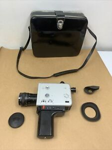 Braun Nizo S560 super 8 camera Schneider Variogon 1:1.8/7-56 Working/ Tested